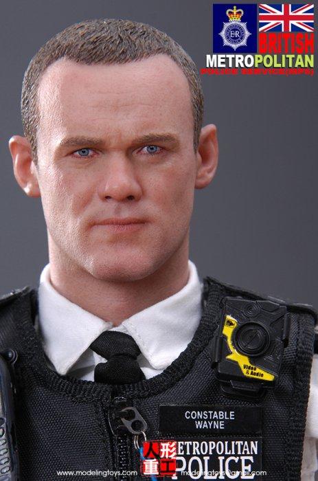 予約 1/6 Modeling Toy MMS9001  JINGCHA  ロンドン警視庁  ウェイン・ルーニー