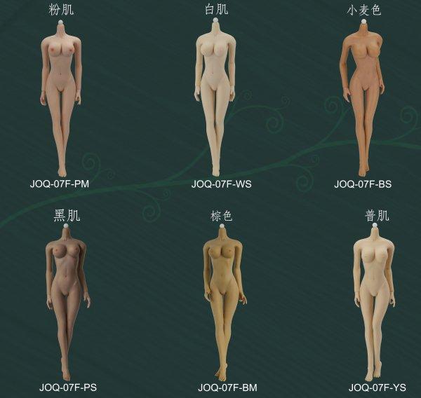 1/6 JIAOUDOLL 2016最新3.0版 超柔軟性シームレスボディヘッドレス  ミドルバスト  ビキニ付け