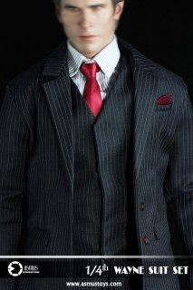 1/4 Asmus Toys SM29 バットマン ブルース・ウェイン等用 スーツ服セット