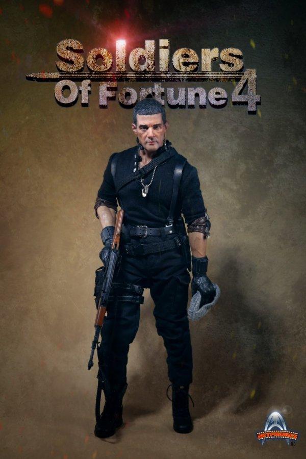 ART FIGURES AF-023 Soldiers of Fortune 4 1//6 FIGURE AF023