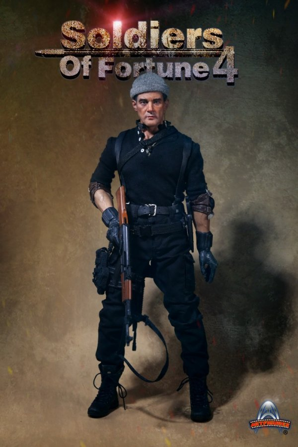 AK47 Assault Rifle 1//6 Scale Art Figures AF-023 Soldiers Of Fortune 4 Figure