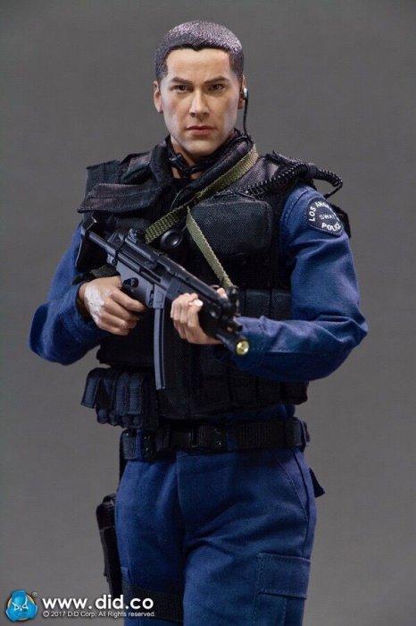 予約1/6 DID MA1003 LAPD SWAT '90S - Kenny スピード キアヌ・リーブス
