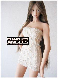 1/6 Charlie's Angels 2017ガールズ  セクシー 胸ラップスカート
