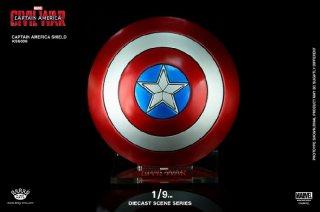 1/9  King Arts FFS009 シビル・ウォー/キャプテン・アメリカ キャプテン・アメリカ用  合金制シールド