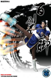 <img class='new_mark_img1' src='//img.shop-pro.jp/img/new/icons1.gif' style='border:none;display:inline;margin:0px;padding:0px;width:auto;' />1/6 SUPER DUCK SET014-A Chun Li ストリートファイター  格闘女神 春麗