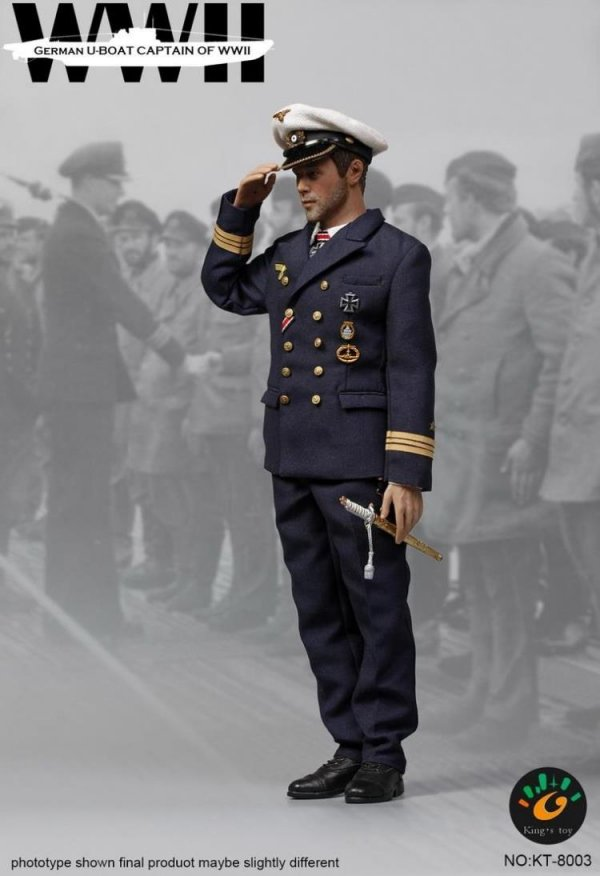 """Leather Pants for Kings Toys German U-BOAT CAPTAIN KT-8003 1//6th 12/"""" Figure"""