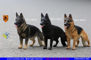 1/6 MR.Z x MCCTOY MCC-001A/B/C GERMAN SHEPHERD ジャーマン・シェパード・ドッグ