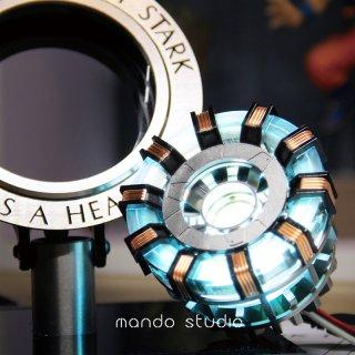 1/1 mando  トニー LED ART REACTOR リモコン操作  2018 高級金属 最新2.0版 組立必要
