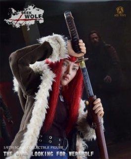送料無料 二次予約 1/6 ADD TOYS AD01 SEEK WOLF ウルヴァリン: SAMURAI 雪緒