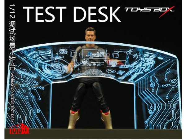 1 12 toys box tb055 2017最新 アイアンマン トニー スターク テスト