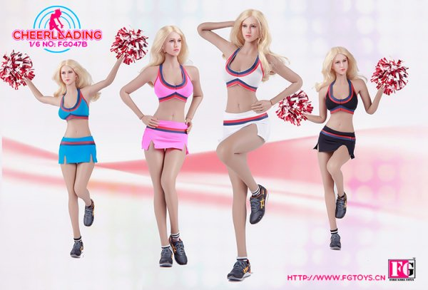1/6 Fire Girl Toys FG047 Cheerleading 美人チアリーダー 服セット