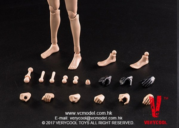 NEW PRODUCT: VERYCOOL: 1/6 Asian beauty head carving + VC