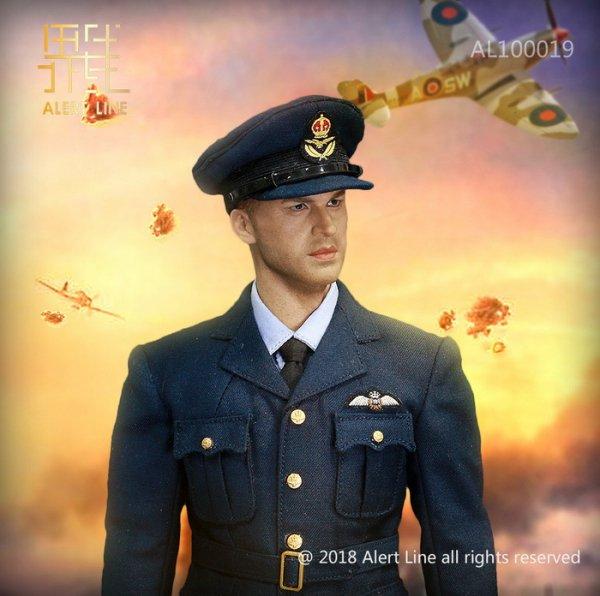 予約1/6 Alert Line AL100019 WWII イギリス空軍 戦闘機 パイロット