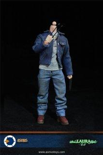 特価 送料無料 1/6 Asmus Collectible Toys CM003 ローガン  Xメン  ダフネ・キーン アウトフィットセット2.0版