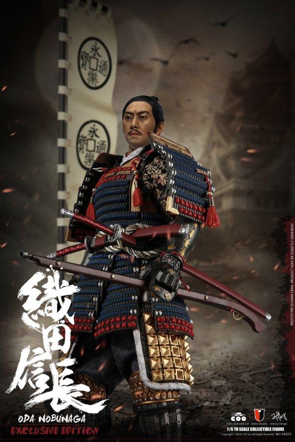COOMODEL SE022 1//6 Series Empires ODA NOBUNAGA Deluxe Edition Figure Wakizashi
