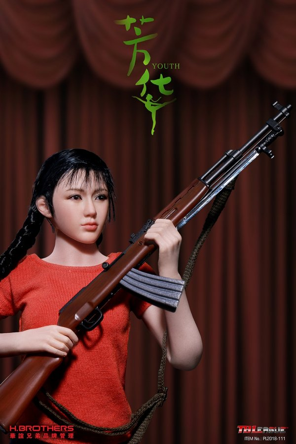 TBLeague PHICEN 1//6 PL2018-111 Art Troupe Movie Youth Female Soldier Figure New