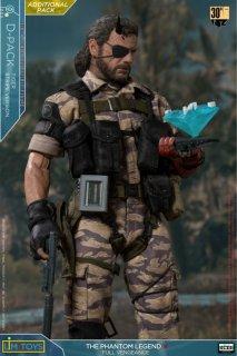 送料無料 1/6 LIMTOYS 003 Aehab メタルギアソリッドV Snake Tiger Stripe Camo Suit Additional Pack (ヘッドは含まりません)