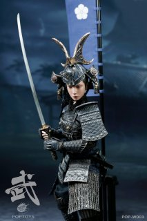 予約 1/6 POPTOYS W003  A 武士サムライ the butterfly helmets female Warriors