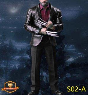 1/6 SGTOYS S02 革服 ファッション スーツ服セット