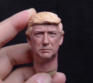 1/6 DIY 第45代アメリカ合衆国大統領 ドナルド・トランプ ヘッド