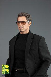 1/6 AFS TOYS A013 欧米男性 トニー  メンズスーツ服セット 2.0版 メガネ付