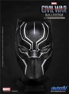 1/1 KIllerbody  Black Panther シビル・ウォー/キャプテン・アメリカ版 ブラックパンサー ヘルメット