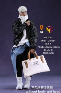 予約1/6 MCCToys x Mr.Z MCC008  MR.Z's Mini Closet- Flight Jacket sets