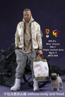 予約1/6 MCCToys x Mr.Z MCC009  MR.Z's Mini Closet- Flight Jacket sets