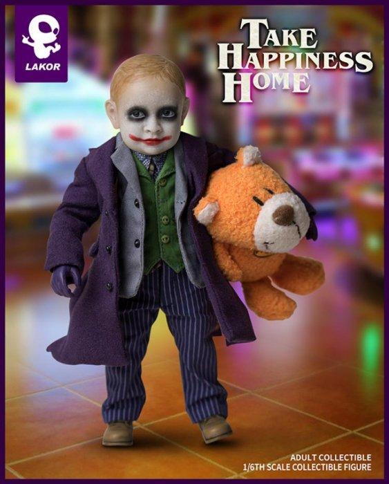 World Box Lakor Baby 1//6 Take Happiness Home Joker Boy Action Figure