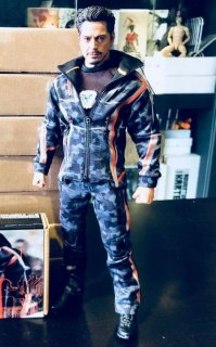 二次予約 送料無料 1/6 SuperMCToys  F-080 欧米男性等用 Nano Combat Suit ナノ コンバット スーツ