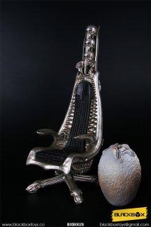 予約 1/6 BLACKBOX BXB002S エイリアン A DARK STAR'S WORLD H.R.G MASTERPIECE DESIGNER METALLIC COLOR 椅子と卵