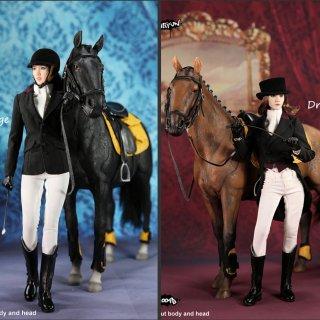1/6  MR.Z MULTIFUN MF004A/B Dressage 馬場馬術 ドレッサージュ 馬と女性馬術服セット