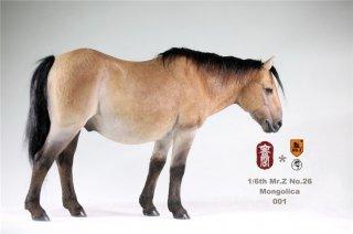 1/6 MR.Z No.26 KongLingGe KLG-M001-4 Mongolica モンゴル馬