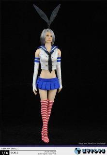 予約 1/6 ZYTOYS ZY5022  BUNNY GIRL バニーガール  セラー服セット
