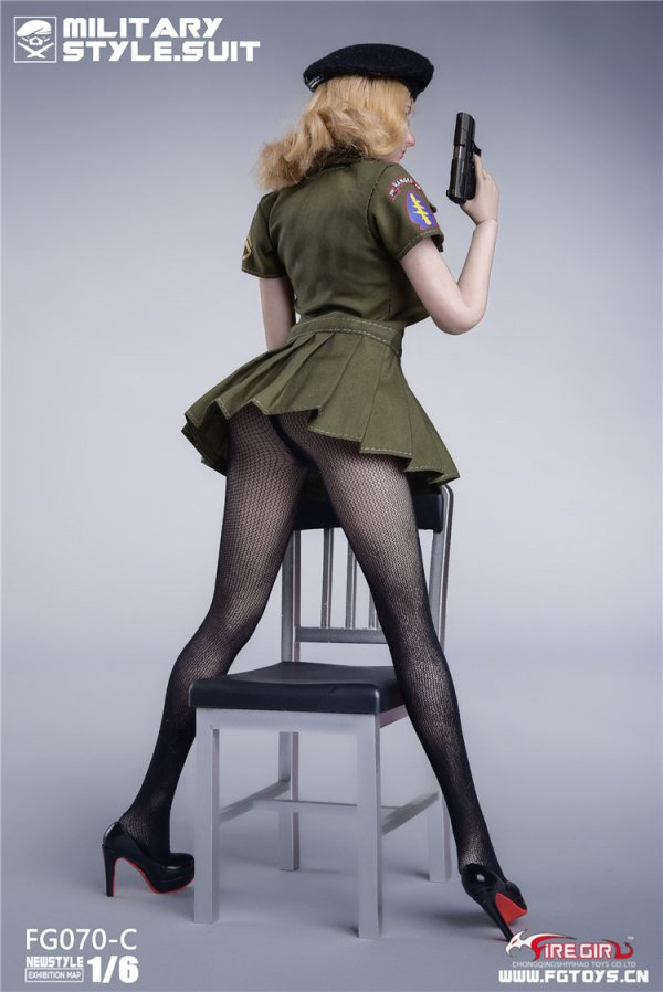 Underpants for Fire Girl Toys FG070 US Army Style Seamless Pantyhose Series 12/'/'