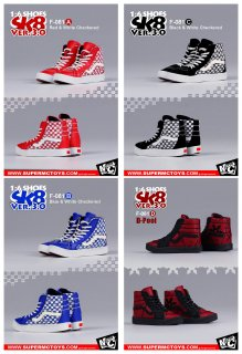 <img class='new_mark_img1' src='//img.shop-pro.jp/img/new/icons1.gif' style='border:none;display:inline;margin:0px;padding:0px;width:auto;' />予約 1/6 SuperMCToys F-081 SK8 SHOES 3.0