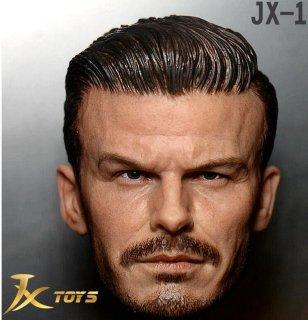 送料無料 1/6 JXtoys JX-10  デビッド・ベッカム 欧米男性ヘッド