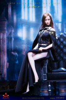 送料無料 予約 1/6 ACPLAY ATX050-C 女性用女王風ロングレトロスカートドレス服セット