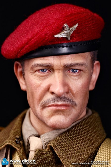 Roy Red Devils COMMANDER-British Uniform Set 1//6 Scale-DID Action Figures