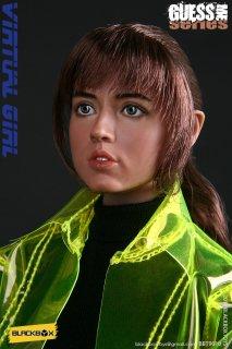 送料無料 予約 1/6 BLACKBOX BBT9010 VIRTUAL GIRL ブレードランナー 2049 アナ・デ・アルマス ダブルヘッドと服セット