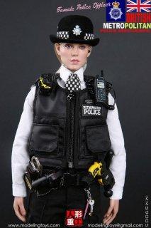 送料無料 予約 1/6  Modeling Toy MMS9005 ロンドン警視庁 Metropolitan Police Service 美人警察官