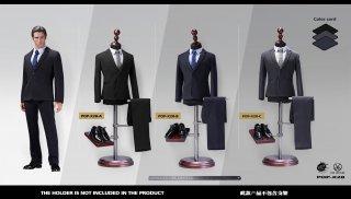 送料無料 予約1/6 POPTOYS  X28 高級カスタム風 男性スーツ服セット