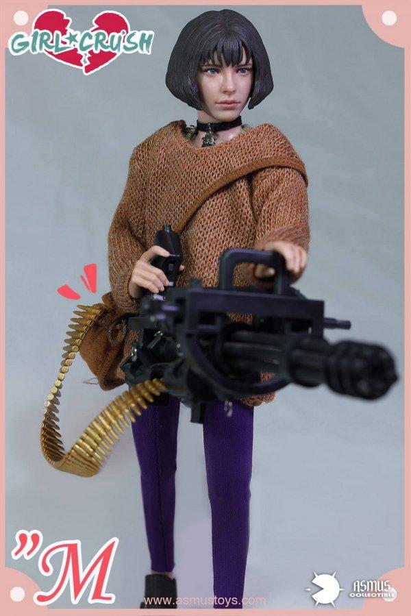Asmus Action Figures 1//6 Scale Girl Crush M Purple Leggings *Teenage Size*