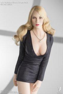 送料無料 予約1/6  VERYCOOL VCL-1002A ファッションショートドレスと欧米美人ヘッド