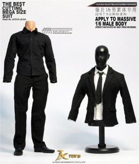 送料無料 1/6 JXTOYS-034 男性スーツセット