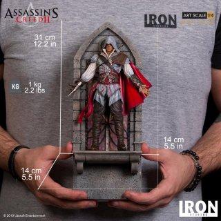 予約 送料無料 フォーマットフィギュア 1/10 Iron Studios アサシン クリード II エツィオ・アウディトーレ