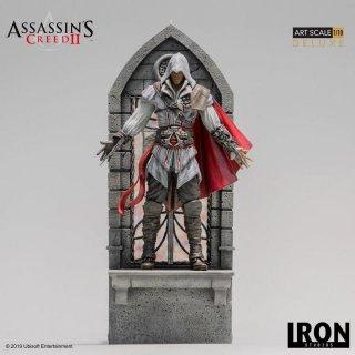 予約 送料無料 フォーマットフィギュア 1/10 Iron Studios アサシン クリード II エツィオ・アウディトーレ DX豪華版