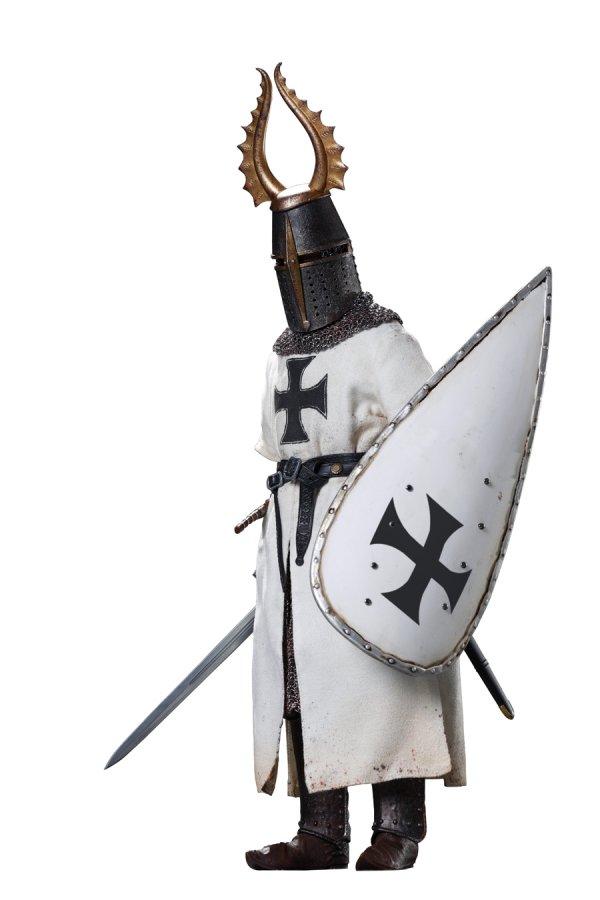 "COOMODEL SE055 1//6 Scale Teutonic Herald Head Sculpt For 12/"" Figure"
