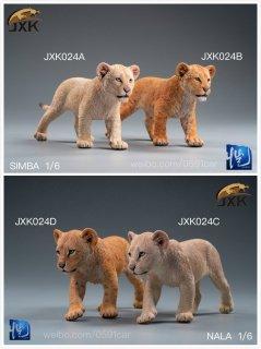 送料無料  1/6 JXK Studio JXK024ABCD キング ライオン