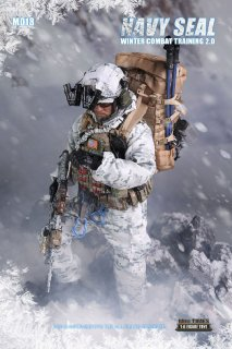 送料無料 予約 1/6  mini times toys MT-M018 NAVY SEAL 冬作戦訓練2.0版